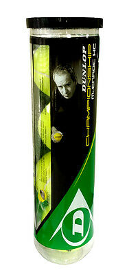 Dunlop Special Edition John Mcenroe Championship All Court 4 Tennis Balls