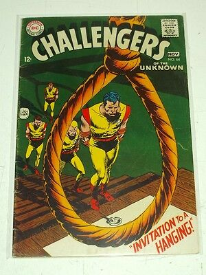 Challengers Of The Unknown #64 Vg (4.0) Dc Comics November 1968+