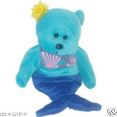 "Skansen Beanie Kid ""shelly The Mermaid Bear"" Mwmt"