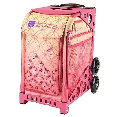 """Zuca """"Sunset"""" Insert Bag with Pink Frame - Perfect School Bag!"""