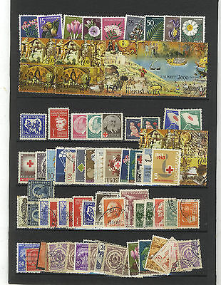 Lot 90 Timbres Yougoslavie  Europe