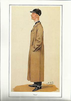 Vanity Fair JOCKEY print - CAPTAIN WENTWORTH WILLIAM HOPE JOHNSTONE