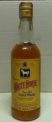 WHITE HORSE FINE OLD SCOTCH WHISKY 75 cl 43% vintage bottle, spanish tax on top
