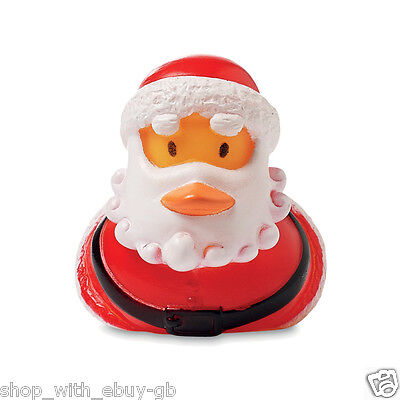 Rubber floating duck Father Christmas NOVELTY GIFT/ STOCKING FILLER Santa Claus