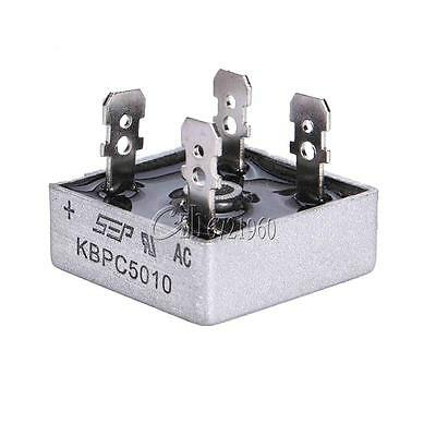 50A 1000V Metal Case Single Phases Diode Bridge Rectifier KBPC5010 CZB