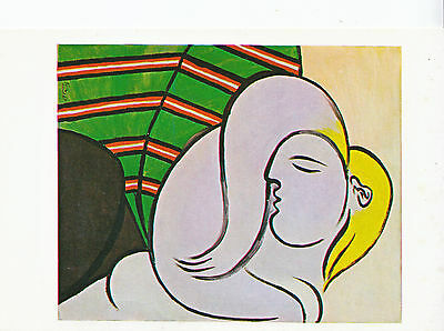 Art Postcard - Pablo Picasso - [1881 - 1973] - Woman With Yellow Hair    AB2077
