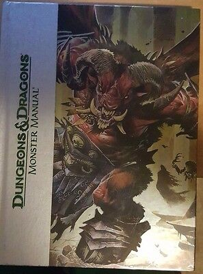 Dungeons and Dragons 4th Ed. Monster Manual - Deluxe Edition