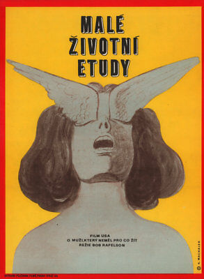 Five Easy Pieces 1973 Czech A3 Poster