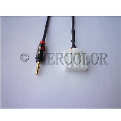 Input Cable Aux Audio 3.5mm for Mazda3 Mazda6 Mazda2 Mazda5 with Monster