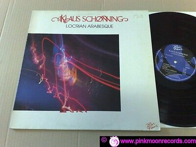 Klaus Schonning Locrian Arabesque 1987 Blue Flame Bf22099 Germany Lp