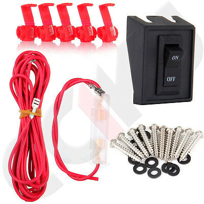 1x Wiring Pack Switch Assembly  For Cab Marker Roof Running Top Light Universal