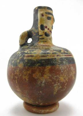 ACROSS THE PUDDLE Pre-Columbian Muisca Water Jar (S) Reproduction