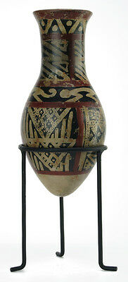 ACROSS THE PUDDLE Pre-Columbian Nariño Amphora Reproduction