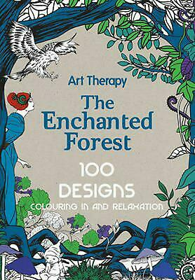 Art Therapy: Enchanted Forest by Marthe Mulkey (English) Hardcover Book Free Shi
