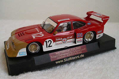 Sideways Ford Capri Zakspeed Gold Leaf 1:32 neu limited