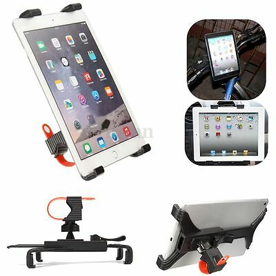 Bicycle Microphone Stand Holder Mount For iPad Air 2 Mini 4 3 7-11inch Tablet