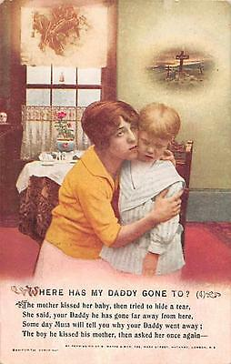 'Where Has My Daddy Gone To' qp1732