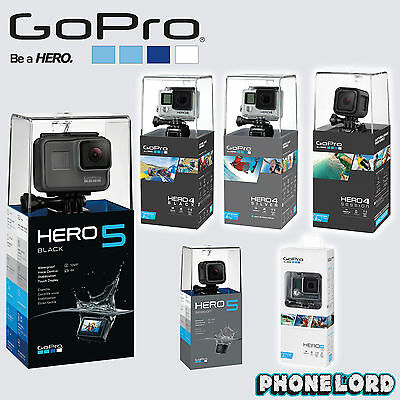 Genuine GoPro HERO HERO 4 5 3+ Silver Black Session HERO+ LCD action camera new