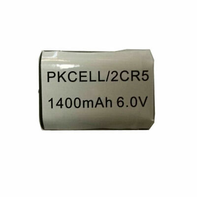 1PCS 2CR5 DL245 EL2CR5 DL245BU KL2CR5 5032LC 1400mAh 6V Lithium Batteries PKCELL