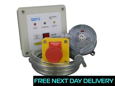 Full Gas Interlock Minder Safety Kit for commercial Kitchen Extraction ISP 3