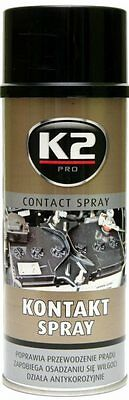K2 | Contact Spray Can | Aerosol Electrical Switch Cleaner | Dirt Remover  400ml