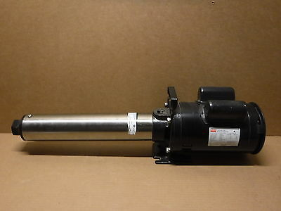 Dayton Multi Stage Booster Pump 5NXZ9A Pumps Plumbing Pipe Industrial