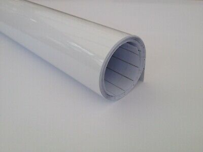 Teckwrap Gloss White Vinyl Wrap Cars Adhesive Decal (Bubble Free) In All Sizes