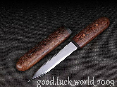 MIni Chinese Longquan Short Sword Dagger Manganese Steel Sharp Blade Handmade