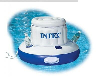 Intex Mega Chill Inflatable Pool Floating Ice  and Cooler Beverage Holder