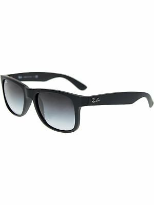 Ray-Ban Men's Gradient Justin RB4165-601/8G-51 Black Wayfarer Sunglasses