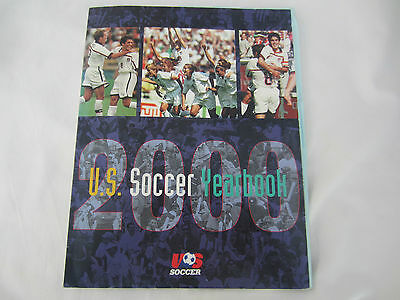 2000 U.S SOCCER YEARBOOK INC USA v BARBADOS TEAM SHEET WORLD CUP QUALIFIER