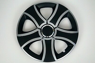 "SET OF 4 x 15"" CAR WHEEL TRIMS RIMS  HUB FITS VAUXHALL MERIVA, ZAFIRA, COMBO  #T"