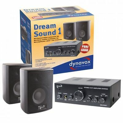 HiFi Stereo Set Dynavox Dream Sound 1 Schwarz
