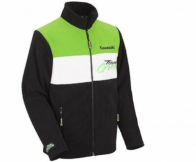 Kawasaki Team Green Fleecjacke Jacke NEU!