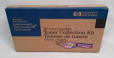 New OEM HP C3120A Toner Collection Kit for Color LaserJet 5 and 5M
