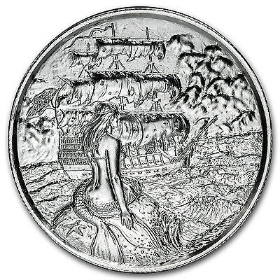 2 oz Silver Round - UHR Privateer Series (The Siren) - SKU #92471