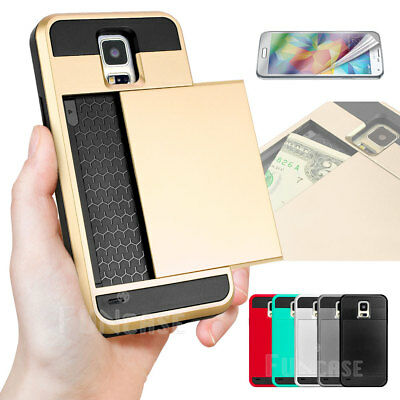 Hybrid Rugged Rubber Hard Shockproof Case Cover Skin for Samsung Galaxy S5 i9600