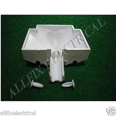 Used Kelvinator Fridge N360H N410H Drain Cup with Pins # 1437047SH