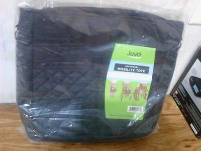 Juvo Universal Mobility Tote Black for Walkers, Wheelchairs NIP