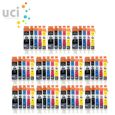 55 XL Ink Cartridges (Set) for Canon Pixma IX6850 MG5650 MG6650 MG7550 MX925