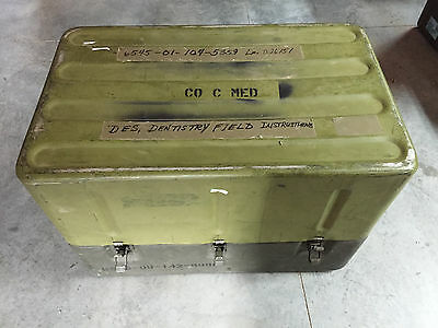 U.S. Military First Aid Medical Instruments & Supply Set (CASE) 6 Drawers!!