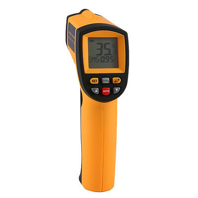 Liqoo Digital LCD Infrared Thermometer Laser IR Point Temperature -50 to 900℃