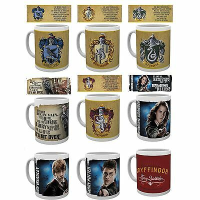 HARRY POTTER - Official Ceramic MUGS (Film/Merchandise/Gift Box/Xmas)