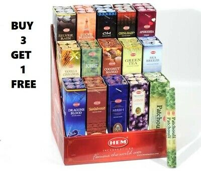 Hem Incense Various Incense Pack Of 1 (20 Sticks P-Z)