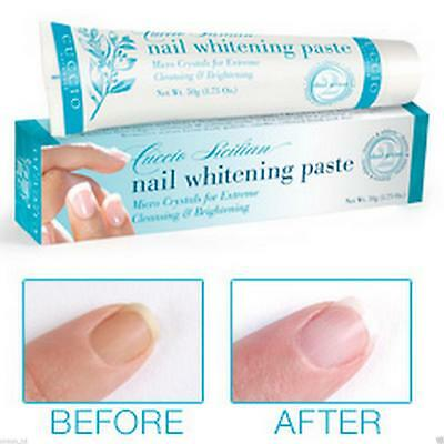 Cuccio Nail Whitening Paste Extreme Cleansing Brightening Discoloured Nails