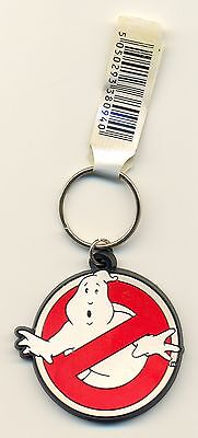 Ghostbusters Logo Rubber Keyring Official