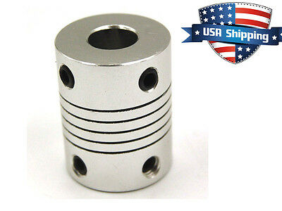 5mm-5mm Flexible Coupler for RepRap 3D Printer/CNC Stepper Motor Shaft Coupling