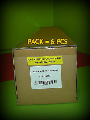 PACK 6 PCS DRUM UNIT NRG RICOH Aficio 470W MPW3600 A080 B010 9510 | ARTONERY WW