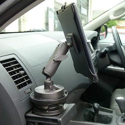 Dedicated Vehicle Car Drink / Cup Holder Base Tablet Mount for iPad Mini 4