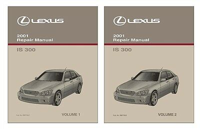 2001 lexus is 300 shop service repair manual book 169 95 picclick rh picclick com 2001 lexus is300 shop manual 2001 lexus is300 repair manual haynes